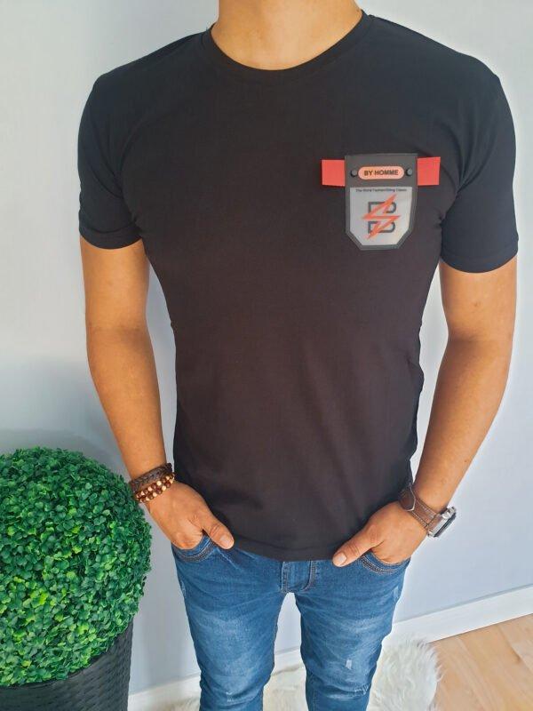 Czarny T-Shirt męski