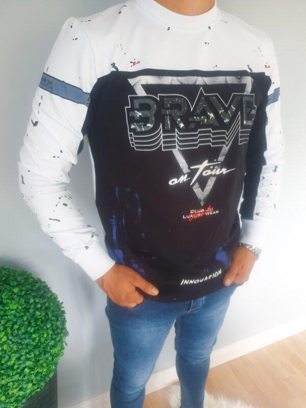 Bluza męska z nadrukiem