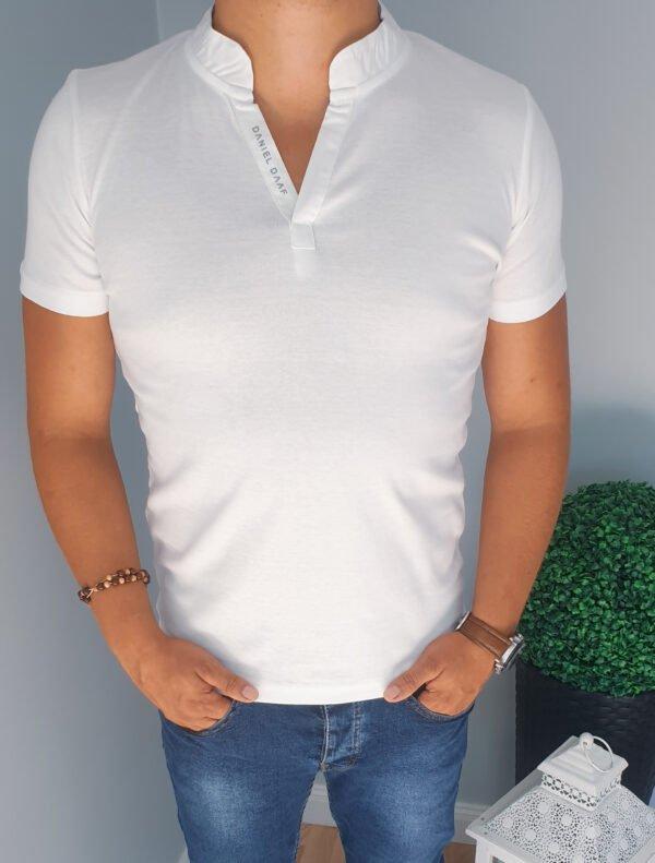 Męski T-shirt Biały