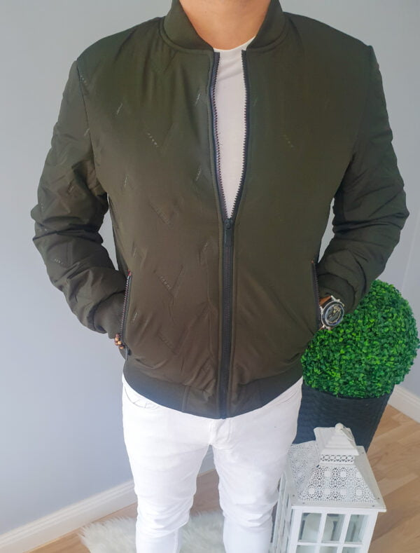 Kurtka męska bomberka zielona