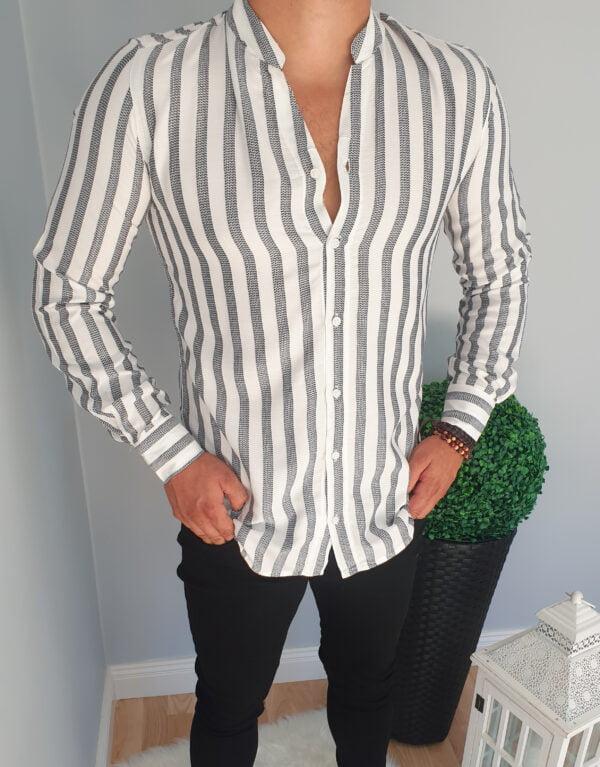 Męska koszula w paski