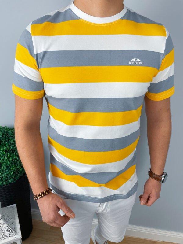 Koszulka Męska w paski