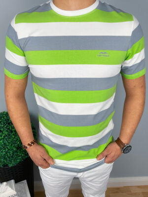 Męska T-shirt w paski