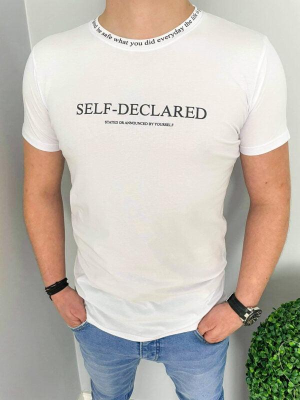 T-shirt męski z napisami