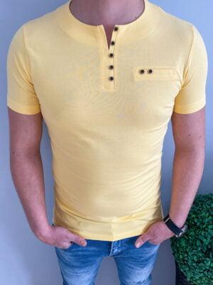 Koszulka męska bez nadruku