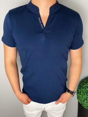Męski granatowy t-shirt