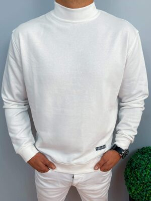 Bluza męska z półgolfem